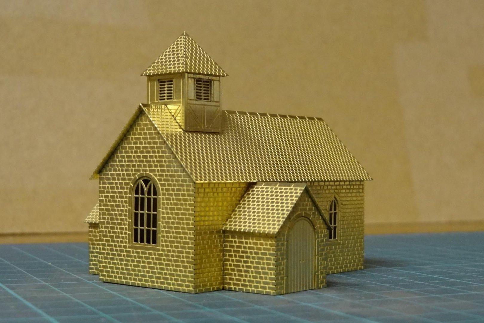 N scale model houses