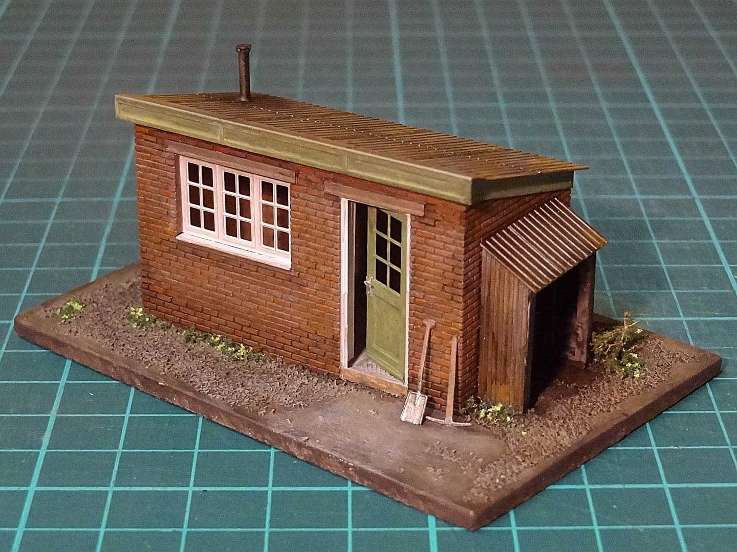 D1 Brick Lineside Hut Severn Models