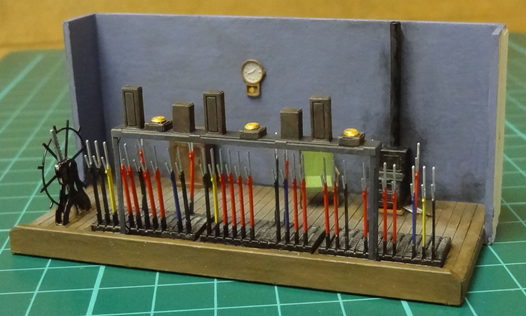 D10 Signal Box Interior Severn Models