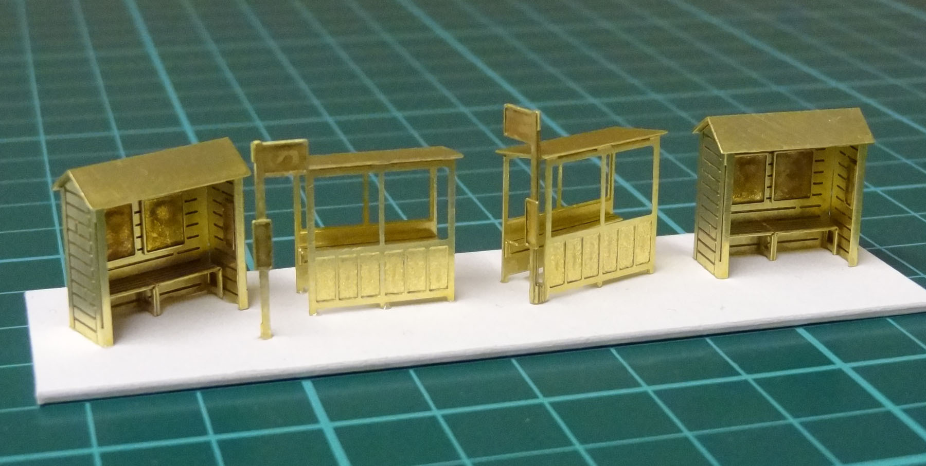 N18 Set of 4 Shelters