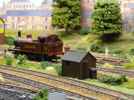 Kit D2 Platelayers Hut set lineside on the exhibition layout 'Loughborough Road'\\n\\n07/06/2016 12:00