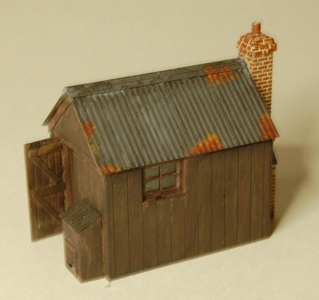 A nice bit of rust on the D2 Platelayers Hut, by Richard Slate of Mudmagnet Models\\n\\n19/09/2016 10:24