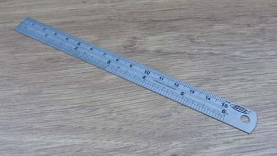 "150mm / 6"" Steel Ruler"