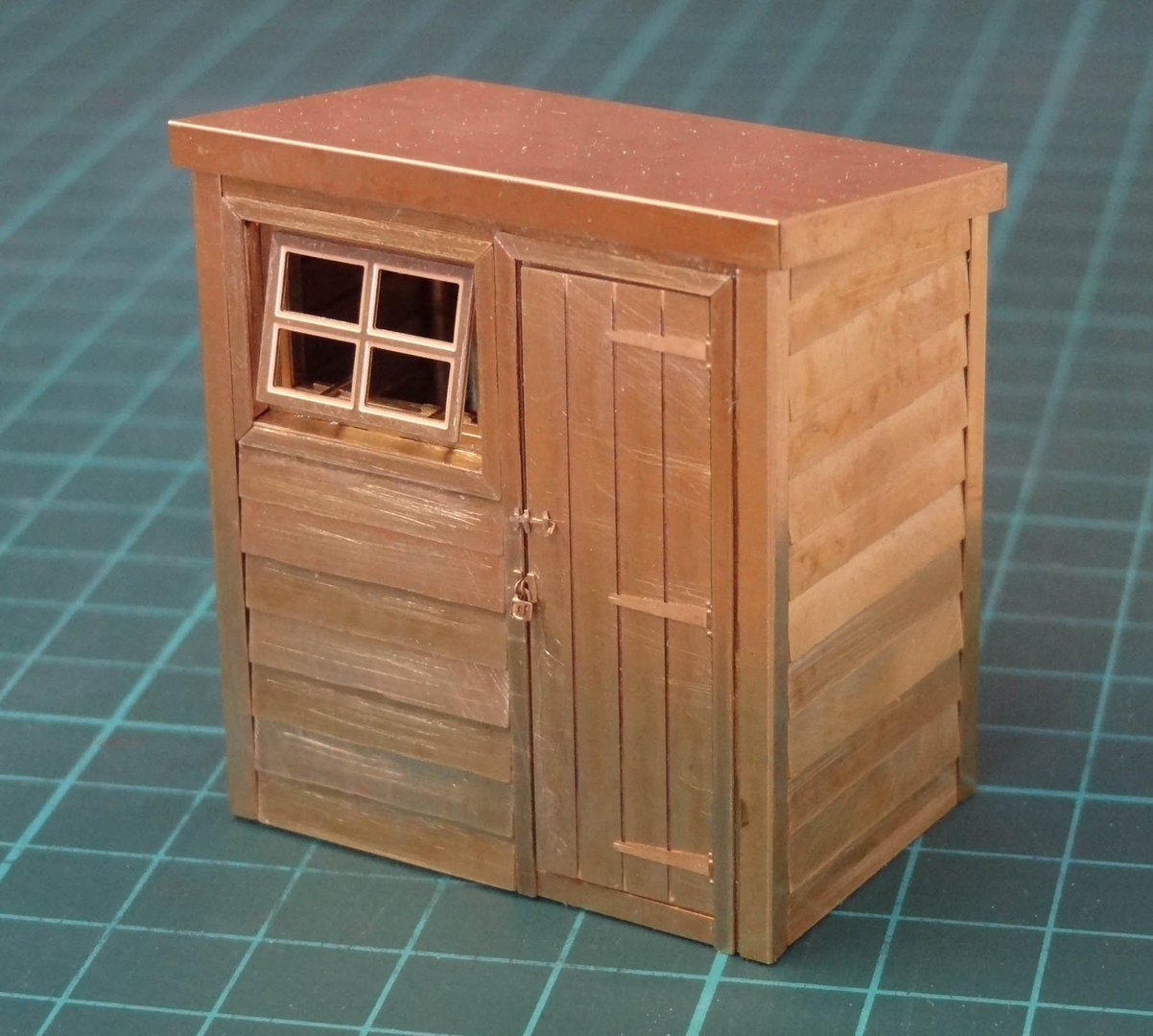 O1 Pent Roof Garden Shed