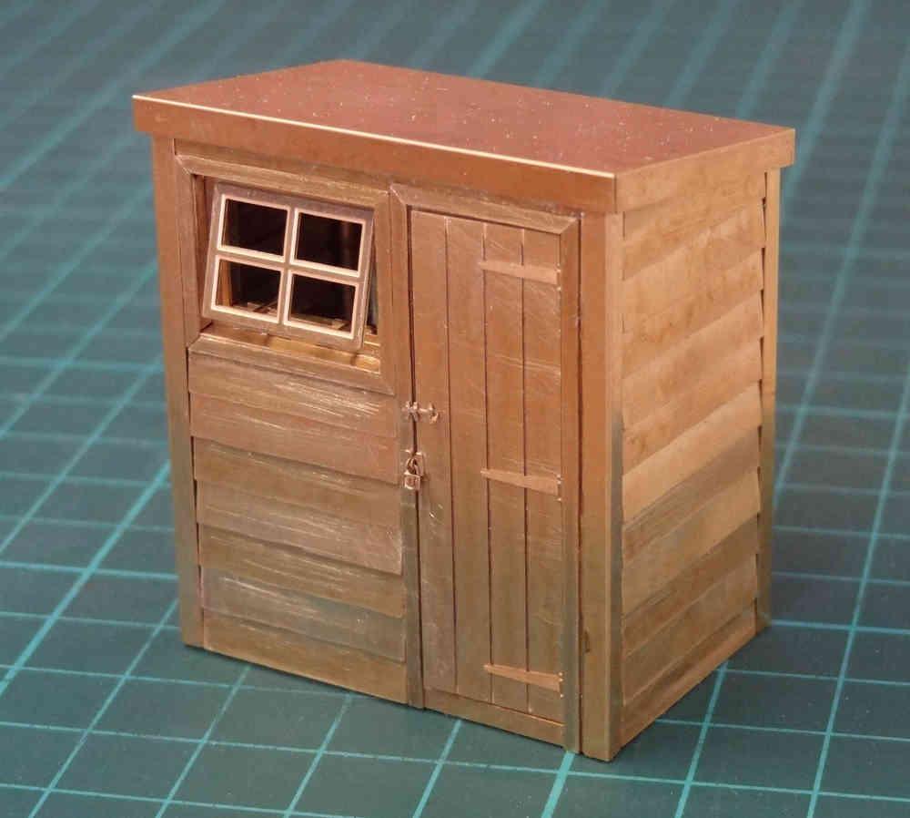 O1 Pent Roof Garden Shed - Severn Models