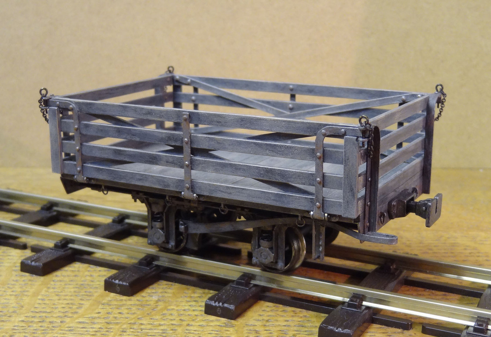 S15 - WDLR Class P Ration Wagon Kit (early variant)